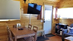 Dining area - Wilderness Cabin #6