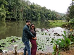 one beautiful stop in our way to Pariyar forest.
