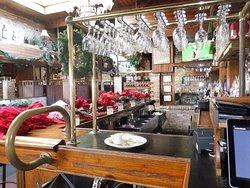 Large bar area inside