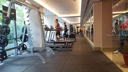 Hotel guests have free access to the hotel gym and sauna.