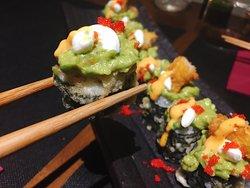 Guacamole Maki crunch, nuestro chiquito con toques mexicanos