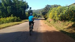 Cycling around Myanmar with wonderful guests !!!