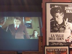 """A video of the movie,""""East of Eden"""" starring James Dean as Cal, based on the John Steinbeck novel."""