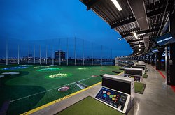 Topgolf Schaumburg Outfield and Targets