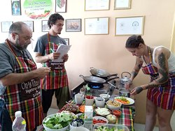 On's cooking class