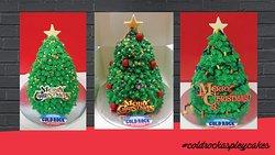 Christmas Tree Cake by Cold Rock Aspley