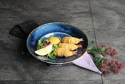 Сырные крокеты с креветками