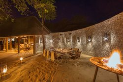 Boma dinners under the stars