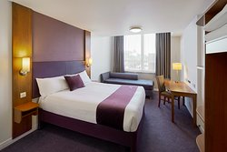 Premier Inn bedroom