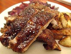 Pork Ribs with BBQ Sauce
