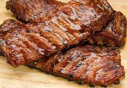 Grilled Rack Pork Ribs