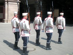 Guard changing routine