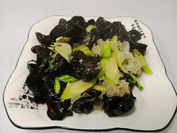 Black & White Mushroom