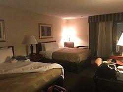 2 queen beds.  Very comfortable!