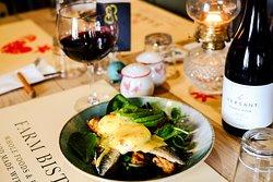 Fresh Fish Egg Royal Salad