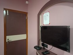 Flat-screen TV in every room