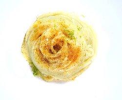 Spaghetti del Martelli, burro, lime e bottarga