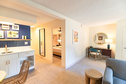 White Sands Hotel 1 Bedroom Suite - Living, Dining and Kitchenette