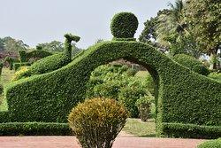 Somapura Mahavhira  - jardins