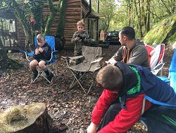 What a cracking weekend.   I highly recommend to anyone wanting to drag the kids (or adults for that matter) away from their screens for some quality time.  2 men, 3 boys (12,8,7yrs), 2 instructors, 0 phone signal or devices, 1 day of activities... 110% laughs, experiences and memories made.  We loved the paintball, archery, rifle shooting, bush skills and clay making and exploring nature.  It was made by the fantastic instructors and their welcoming nature.  We'll be back soon!