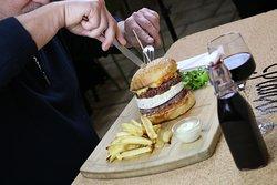 Burger Gigante Double steak Camembert