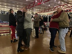 Christmas caroling, dancing and a fantastic buffet had us all feeling the love.