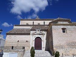 At beautiful Iglesia de Santa María la Mayor in Baena.