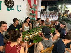 Boodle Fight or Family Dinner