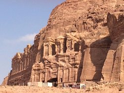 The high rent district of Petra