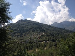 View of Picturesque mountains
