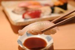 握り寿司 ヒラメ