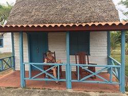 Unterkunft auf unserer Offroad-Tour durch Zentralcuba. Einfach und rustikal.