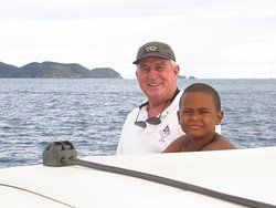 Captain Sam has over 40 years of experience sailing the beautiful waters of the BVI.  For a true, hands on excursion, sail with us!