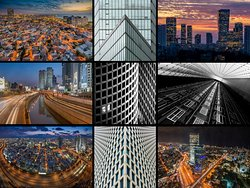 Tel-Aviv Cityscapes --- Inspiring architecture and epic skylines in the Tel-Aviv, the city that never sleeps. (All photos © Ilan Shacham)