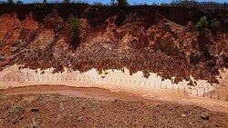 Un endroit unique.. Tsingy Rouge.. Circuits tour Nord de Madagascar