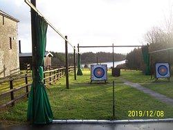 Archery Area, as seen on Sunday 8th December 2019.