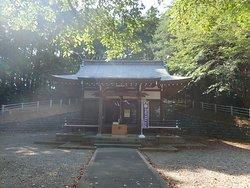 石段の上には椙山神社の社殿がひっそりと鎮座してました。祭神は日本武尊、大物主命、意富斗能地神です。 小さい社殿ながら周囲の木々と合わせて見ると実に神秘的な雰囲気でした。