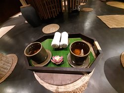 after massage tea