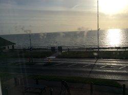 Sun-rise over Holland-on-Sea.