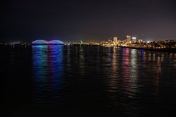 Mighty Lights and the Memphis Skyline | Phillip Van Zandt