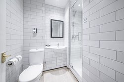 Superior bathrooms with power showers