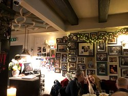 Lovely decorated with pictures of celebrities