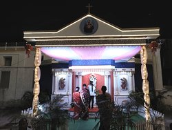 Specially erected Alter for the Feast