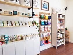 Our children's corner is one of our favorite spots in the shop!