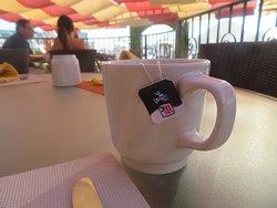 Tea, Lighthouse Restaurant, Tesoro Resort, Cabo San Lucas