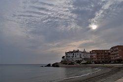 Late afternoon / early evening at Playa de Calabardina