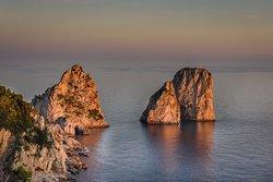 Twilight of Faraglioni