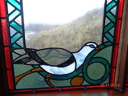Fantastic stained glass windows
