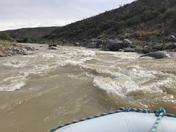 Probably the best rapids we experienced - so much fun!