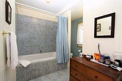 Tower Room Bathroom with Jetted tub